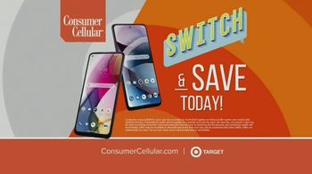 Consumer Cellular TV Spot, 'NBY Animated: $100 Off' - Thumbnail 8