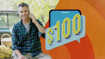 Consumer Cellular TV Spot, 'NBY Animated: $100 Off' - Thumbnail 4