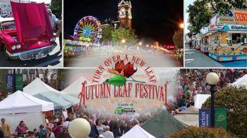 Pennsylvania Great Outdoors Visitors Bureau TV Spot, 'Autumn Adventures: Autumn Leaf Festival' - Thumbnail 6