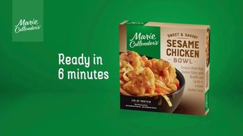 Marie Callender's Sweet and Savory Sesame Chicken Bowl TV Spot, 'Hungry for Something Different' - Thumbnail 10