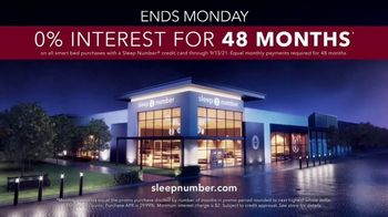 Sleep Number Biggest Sale of the Year TV Spot, '50% Off and 0% Interest: 48 Months' - Thumbnail 9