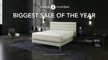 Sleep Number Biggest Sale of the Year TV Spot, '50% Off and 0% Interest: 48 Months' - Thumbnail 2