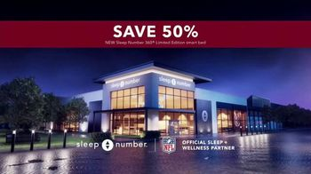 Sleep Number Biggest Sale of the Year TV Spot, '50% Off and 0% Interest: 48 Months' - Thumbnail 7
