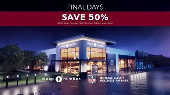 Sleep Number Biggest Sale of the Year TV Spot, '50% Off and 0% Interest: 48 Months' - Thumbnail 8