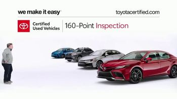 Toyota Certified Used Vehicles TV Spot, 'Doesn't Look Like a Used Car' [T2] - Thumbnail 1