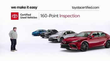 Toyota Certified Used Vehicles TV Spot, 'Doesn't Look Like a Used Car' [T2] - Thumbnail 3