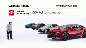 Toyota Certified Used Vehicles TV Spot, 'Doesn't Look Like a Used Car' [T2] - Thumbnail 4