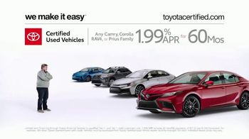 Toyota Certified Used Vehicles TV Spot, 'Doesn't Look Like a Used Car' [T2] - Thumbnail 6