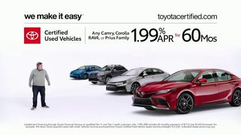 Toyota Certified Used Vehicles TV Spot, 'Doesn't Look Like a Used Car' [T2] - Thumbnail 7