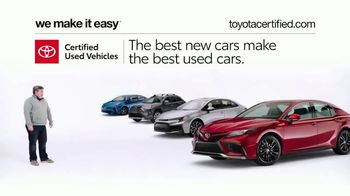 Toyota Certified Used Vehicles TV Spot, 'Doesn't Look Like a Used Car' [T2] - Thumbnail 8