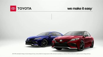 Toyota Camry TV Spot, 'Stylish, Fuel Efficient and Reliable' [T2] - Thumbnail 1