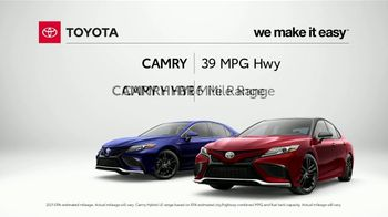 Toyota Camry TV Spot, 'Stylish, Fuel Efficient and Reliable' [T2] - Thumbnail 2