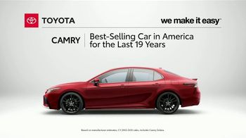Toyota Camry TV Spot, 'Stylish, Fuel Efficient and Reliable' [T2] - Thumbnail 6