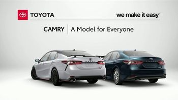 Toyota Camry TV Spot, 'Stylish, Fuel Efficient and Reliable' [T2] - Thumbnail 7