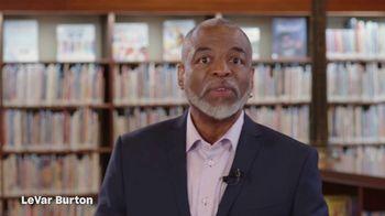 The Library of Congress National Book Festival TV Spot, 'Open a Book, Open the World' Featuring LeVar Burton