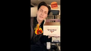 Burger King $6 Keep It Real Meals TV Spot, 'The Chase Hudson Meal' Song By LILHUDDY - Thumbnail 1