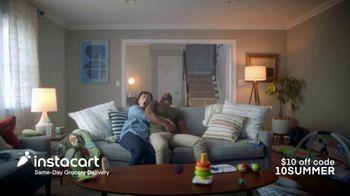 Instacart TV Spot, 'The Miracle Nap: Save $10'