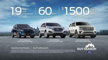 Ford SUV Season TV Spot, 'America's Freshest Lineup: Explorer, Escape and Expedition' [T2] - Thumbnail 10