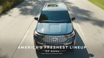 Ford SUV Season TV Spot, 'America's Freshest Lineup: Explorer, Escape and Expedition' [T2] - Thumbnail 3