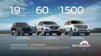 Ford SUV Season TV Spot, 'America's Freshest Lineup: Explorer, Escape and Expedition' [T2] - Thumbnail 8