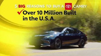 Toyota 5 Big Reasons Event TV Spot, 'Reasons to Buy a Camry' [T2]