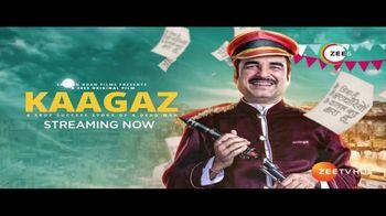 ZEE5 TV Spot, 'Kaagaz'