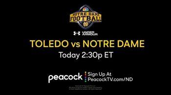 Peacock TV TV Spot, 'Notre Dame Football'