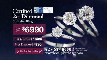 Jewelry Exchange TV Spot, 'Certified Diamonds and 50% off Designer Mounts'
