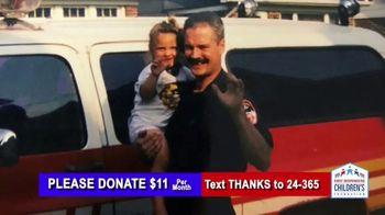 First Responders Children's Foundation TV Spot, 'My Dad Was My Hero'