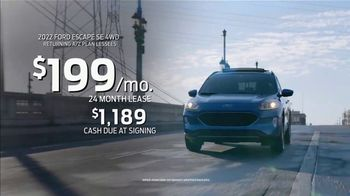 2022 Ford Escape TV Spot, 'Built For You, By You' [T2] - Thumbnail 10