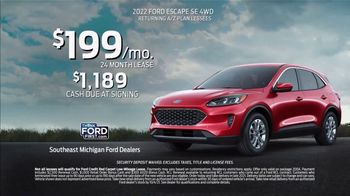 2022 Ford Escape TV Spot, 'Built For You, By You' [T2] - Thumbnail 7