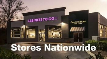 Cabinets To Go TV Spot, 'Wow Changes Everything: 40% Off Cabinets'