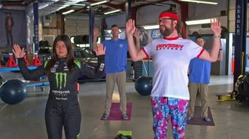 Odyssey Battery TV Spot, 'Yoga' Featuring Richard Petty, Hailie Deegan