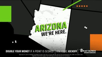 DraftKings TV Spot, 'Arizona: Double Your Money if a Point is Scored' - Thumbnail 3