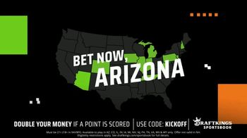DraftKings TV Spot, 'Arizona: Double Your Money if a Point is Scored' - Thumbnail 6