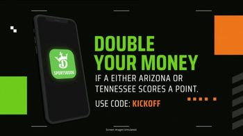DraftKings TV Spot, 'Arizona: Double Your Money if a Point is Scored' - Thumbnail 9