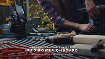 2021 Ford F-150 TV Spot, 'Truck of the Future: F-150: Tailgate Work Surface' [T2] - Thumbnail 4