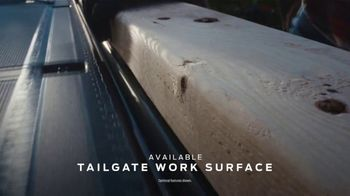 2021 Ford F-150 TV Spot, 'Truck of the Future: F-150: Tailgate Work Surface' [T2] - Thumbnail 5
