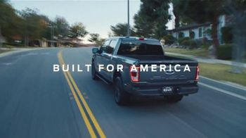 2021 Ford F-150 TV Spot, 'Truck of the Future: F-150: Tailgate Work Surface' [T2] - Thumbnail 7