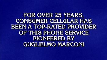 Consumer Cellular TV Spot, 'Jeopardy!: What is Wireless?'