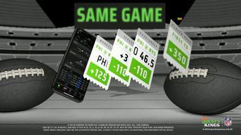 DraftKings Sportsbook TV Spot, 'Same Game Parlay: $25 Credit'