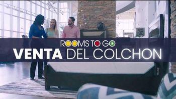 Rooms to Go Venta del Colchón TV Spot, '$555 cualquier tamaño' [Spanish]