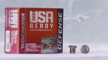 Winchester USA Ready Defense TV Spot, 'Stopping Power, Penetration and Reliable Expansion'