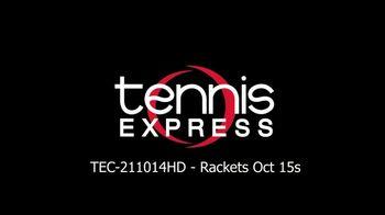Tennis Express TV Spot, 'Save on New Rackets'