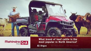 Mahindra Angus TV Spot, 'What is the Most Popular Beef Castle?'