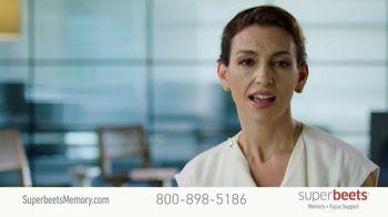 SuperBeets TV Spot, 'SuperBeets Stay Sharp'