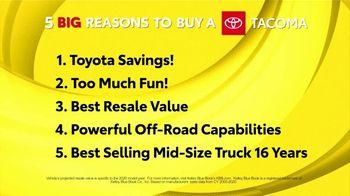 Toyota Fall Savings TV Spot, 'Reasons to Buy a Tacoma' [T2] - Thumbnail 1