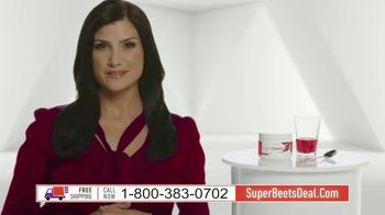 SuperBeets TV Spot, 'SuperBeets Blood Pressure Energy'