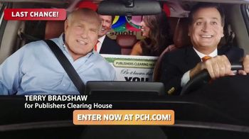 Publishers Clearing House TV Spot, 'Last Chance: Win $,7000 a Week' Featuring Terry Bradshaw
