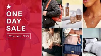 Macy's One Day Sale TV Spot, 'Comforters, Luggage and Small Appliances' - Thumbnail 2